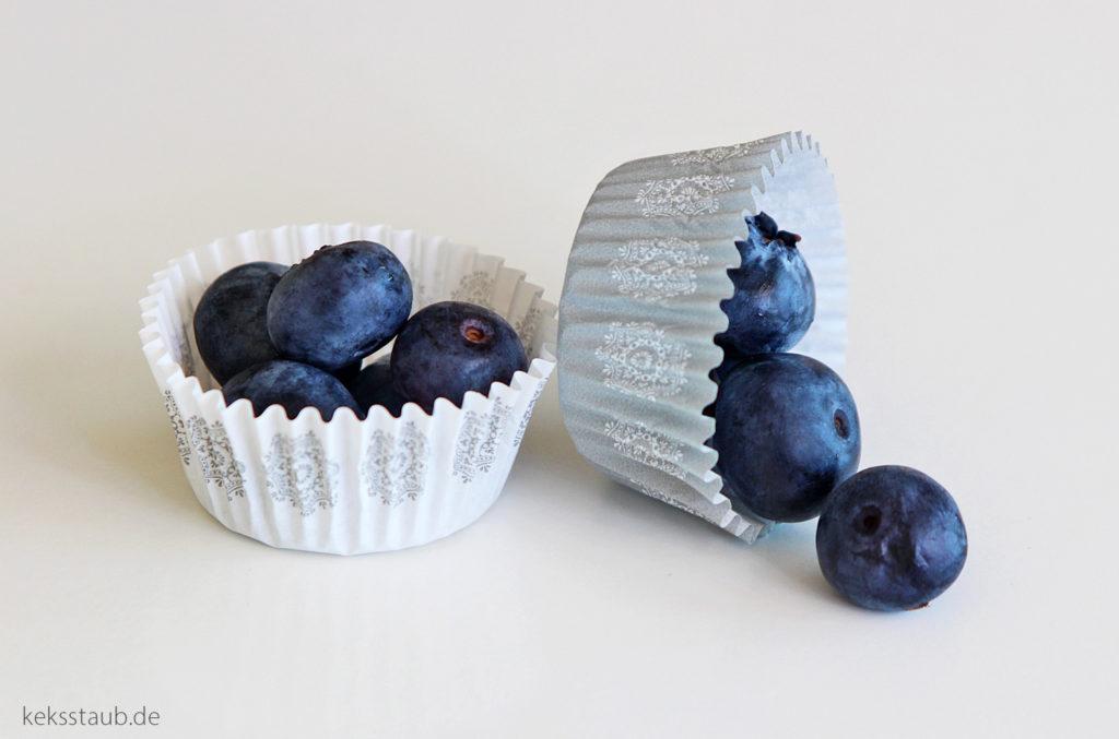 Streuselmuffins mit Blaubeeren