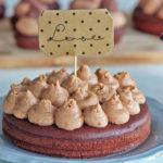 Schokoholic Cupcakes und Törtchen mit Snickers Creme