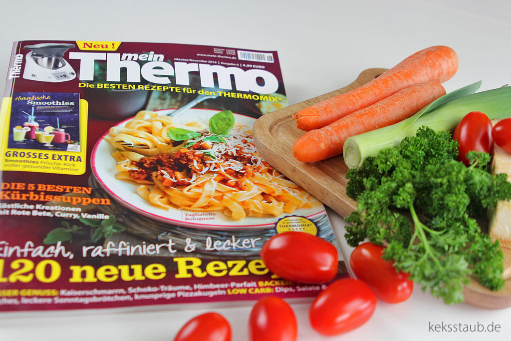 meinThermo Tagliatelle Bolognese aus dem Thermomix