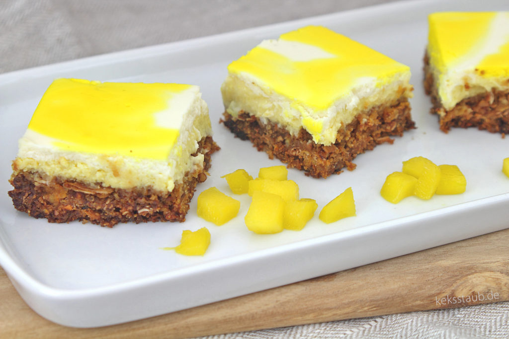Rezension Cynthia Barcomi glutenfreier Mango Cheesecake