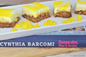 Rezension Cynthia Barcomi Mango Cheesecake glutenfrei