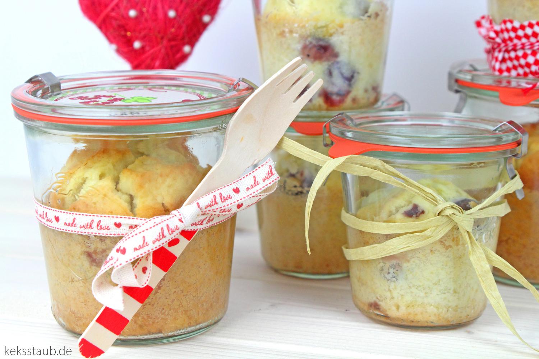 Valentinstag Eierlikor Kirsch Kuchen Im Glas Keksstaub De
