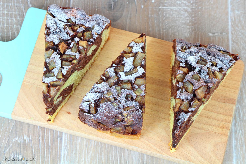 Kalorienarmer marmorkuchen kuchen
