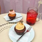 Peggy-Porschen-London-Erdbeer-und-Schoko-Cupcake-Keksstaub-