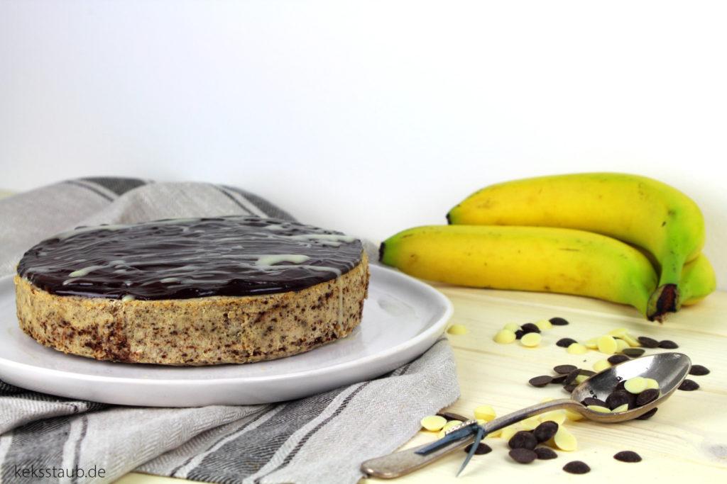 tm donnerstag kalorienreduzierter bananen schoko cheesecake aus dem varoma. Black Bedroom Furniture Sets. Home Design Ideas