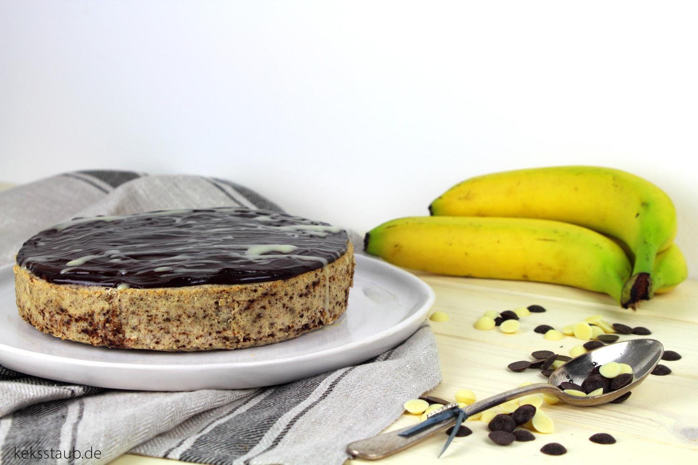 Tm Donnerstag Kalorienreduzierter Bananen Schoko Cheesecake Aus Dem