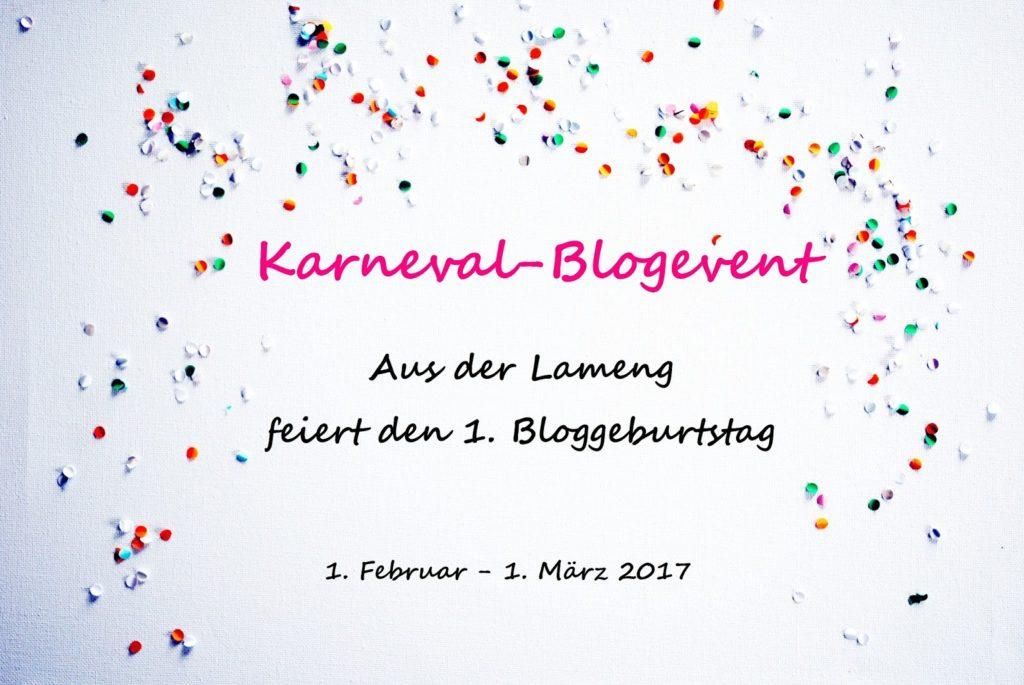 Banner Blogevent Aus der Lameng