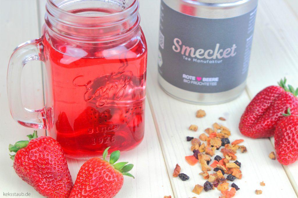 Smecket-Bio-Tee-aufgebrüht