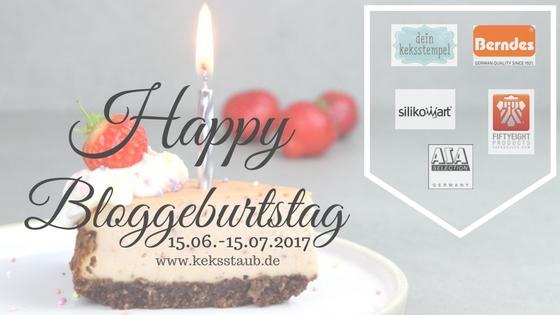 Banner keksstaub feiert Blog Geburtstag Sponsoren1