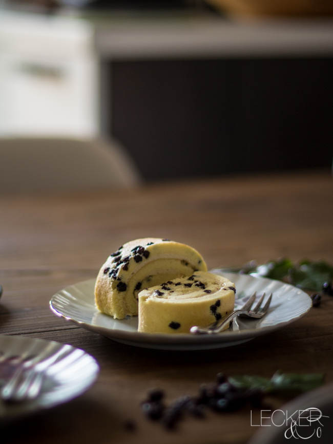 spotted dick mit custard