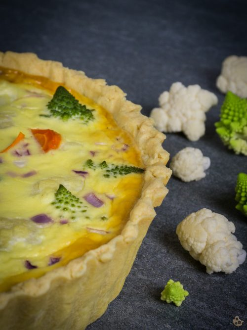 Gemüse Quiche von Keksstaub für Hallo Herbst