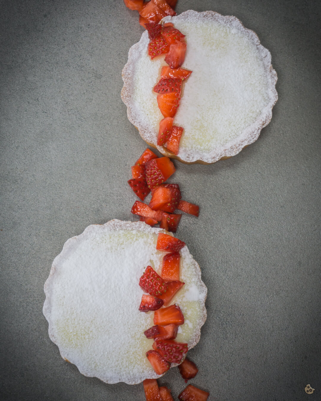 White Chocolate Erdbeer Tarte von keksstaub