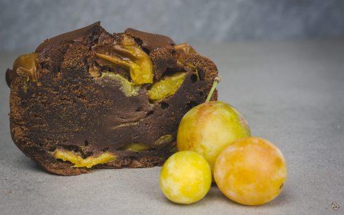 Schoko Mirabellen Kuchen zum Thermomix Donnerstag von keksstaub 2