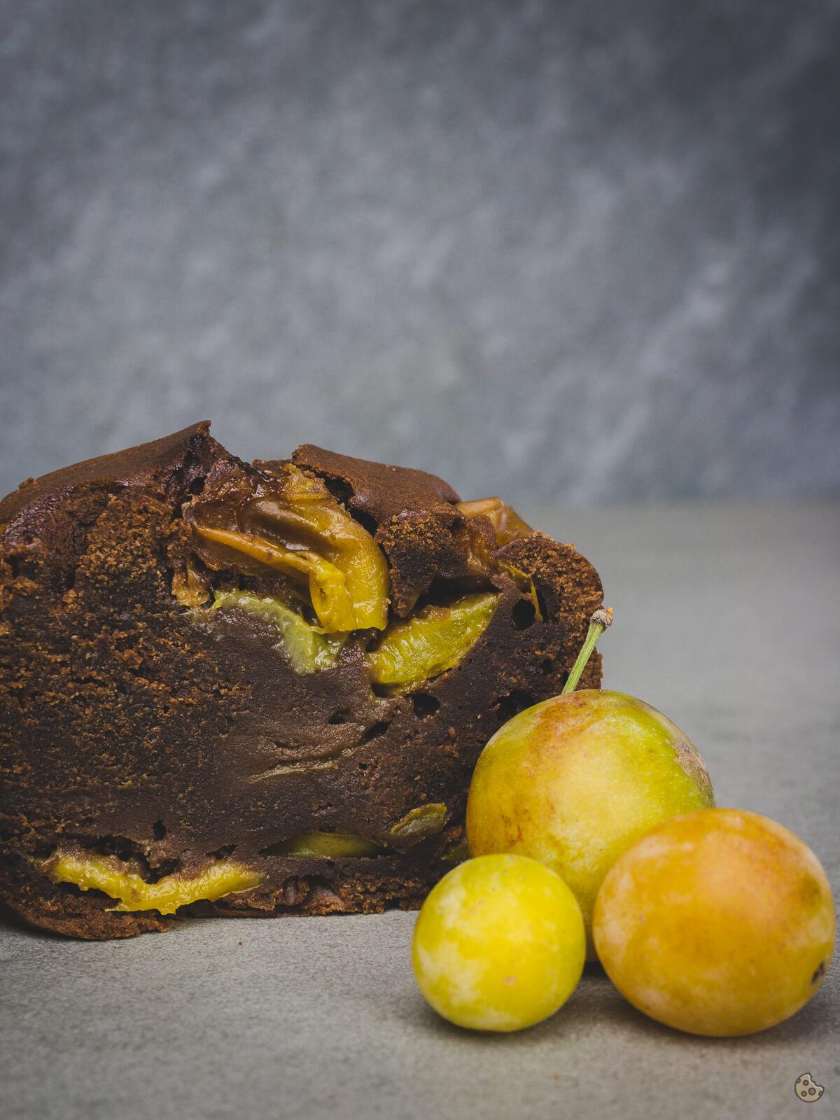 Schoko Mirabellen Kuchen zum Thermomix Donnerstag von keksstaub-2