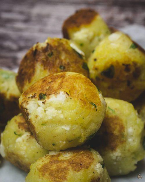 Kartoffel Blumenkohl Bällchen von Keksstaub
